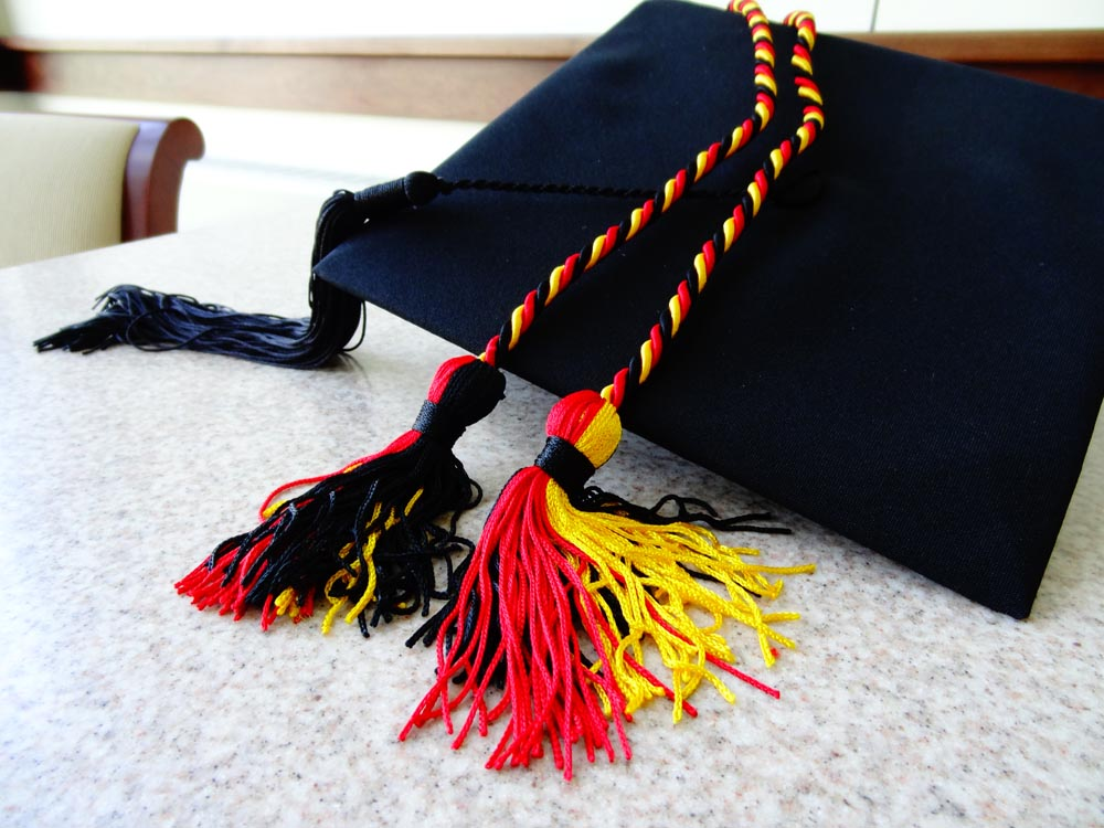 German Honor Cords